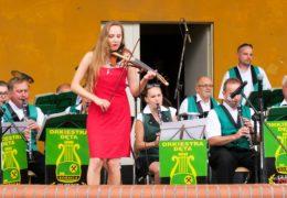 Wakacyjny koncert w Gliwicach-Sośnicy (22.07.2018 r.) foto. A.Witwicki