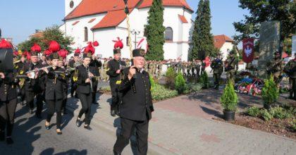 Odsłonięcie pomnika Powstańców Śląskich w Sośnicowicach, 21.09.2018 r. (foto: A. Witwicki)