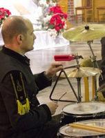 Arkadiusz Wójcik, perkusja